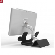Retail counter holder with coil